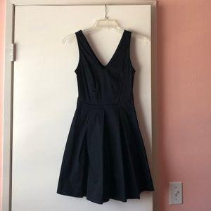 BANANA REPUBLIC - Black office dress (Size 00P)